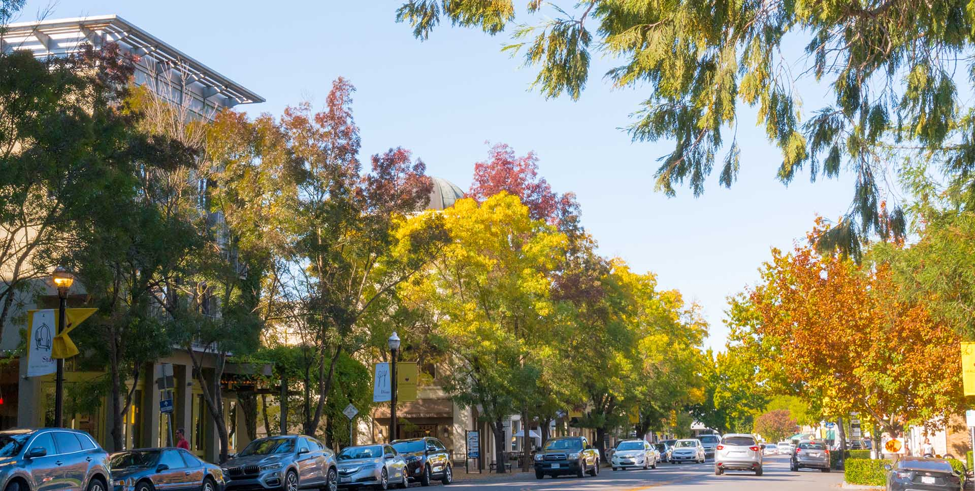 Photo of downtown Healdsburg